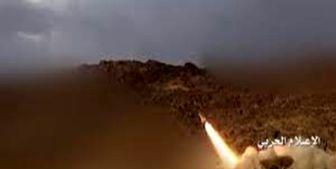 شلیک موشک به مواضع ائتلاف سعودی در مرکز یمن
