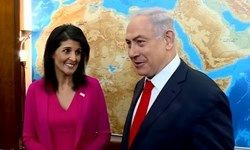 نتانیاهو از نیکی هیلی تشکر کرد