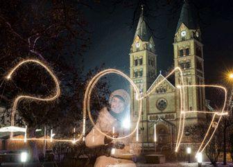 جشن سال نو در مسکو حادثه آفرید