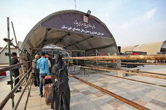 برگشت زائران غیرقانونی از مرز مهران