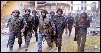 باز پسگیری منطقه استراتژیک دمشق