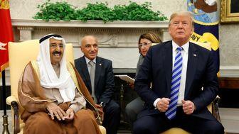 اعطای بالاترین نشان آمریکا به امیر کویت از سوی ترامپ