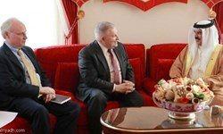 پادشاه بحرین نشانی آل سعود را به آمریکا داد