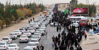 بروز ترافیک سنگین در محور مهران