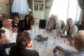 تحلیل واشنگتن تایمز از حضور ظریف در فرانسه
