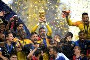 فینال جام جهانی 2018 - دیدار تیم های فرانسه و کرواسی/ گزارش تصویری