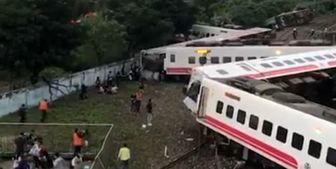 خروج قطار از ریل در تایوان، 17 کشته برجا گذاشت