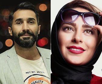 ژِست عاشقانه زوج جدید سینمای ایران/عکس