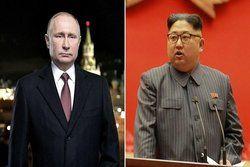 رهبر کرهشمالی پیروزی مجدد پوتین را تبریک گفت