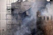 آتش سوزی مهیب در مدرسه هنر گلاسکو/ گزارش تصویری