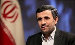 عیادت احمدینژاد از آیت الله مهدویکنی