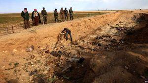 کشف یک گور دسته جمعی با ۴۰۰ جسد در شمال عراق