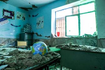 تخریب کامل ۴۴ مدرسه سرپل ذهاب در اثر زلزله
