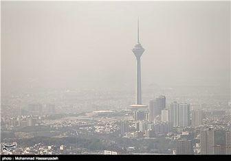 گردوخاک عراق به تهران میرسد