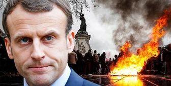 پس از ماهها اعتراض در فرانسه مکرون بالاخره اعتراف کرد
