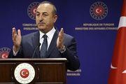 حضور وزیر خارجه ترکیه در افغانستان