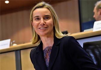 موگرینی: ایران برای افتتاح دفتر اتحادیه اروپا در دمشق، به ما کمک کرد