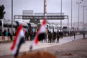 اسبابکشی تروریستها از دوما
