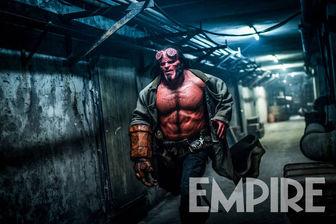 جدیدترین تصویر از «پسر جهنمی۳» ابرقهرمان آتشین