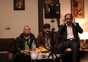 بازدید قائم مقام شبکه 2 از پشت صحنه سریال «پدر»