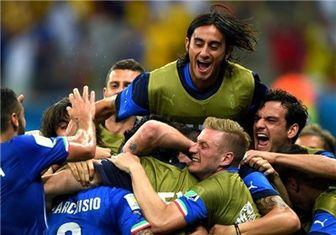 پیروزی شیرین ایتالیا مقابل انگلیس