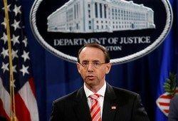 استعفای معاون وزارت دادگستری آمریکا