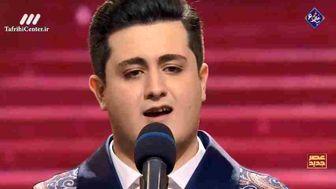 اجرای پارسا سیمین مرام خواننده خوش صدا در مرحله دوم عصر جدید+فیلم