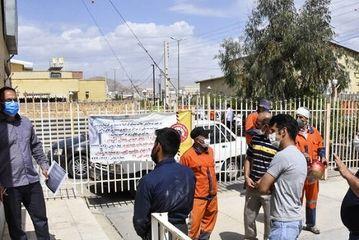 تزریق واکسن کرونا به پاکبانان در سمنان/ گزارش تصویری