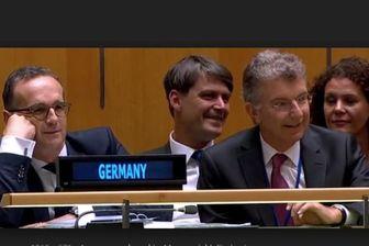(ویدئو) خنده حضار به ادعای ترامپ در سازمان ملل