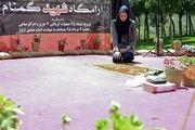 کیمیای ایران مدالش را به شهید گمنام ۱۸ ساله تقدیم کرد