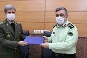 امضا تفاهم نامه همکاری مشترک میان وزارت دفاع و نیروی انتظامی
