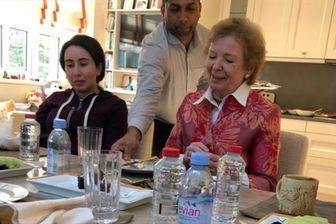انتشار عکس هایی از دختر فراری حاکم دوبی