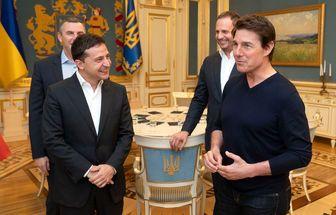 گفتگوی جالب و خواندنی آقای بازیگر با رئیس جمهور اوکراین