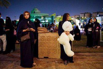 نظر شما راجع به این عکس چیست؟ / آزادی زنان عربستان