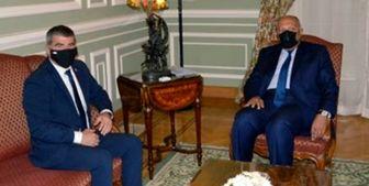 رایزنی وزیر خارجه رژیم صهیونیستی با همتای مصری