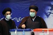 چهره های سیاسی که در جماران رای دادند/ گزارش تصویری