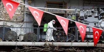 افزایش تعداد مبتلایان کرونا در ترکیه