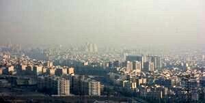 پایداری آلودگی هوا در تهران