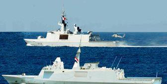 برگزاری رزمایش دریایی مشترک فرانسه و مصر
