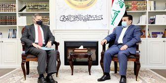 محور دیدار سفیر آمریکا با مشاور امنیت ملی عراق