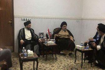 رایزنی مقتدی صدر و عمار حکیم برای تشکیل ائتلاف در مجلس عراق
