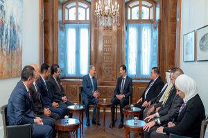 دیدار هیئت پارلمانی اردن با بشار اسد
