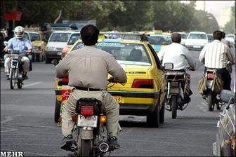 تردد سه میلیون موتورسیکلت در پایتخت