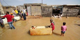 هزینه ۱۵۱ میلیاردی برای توزیع اقلام امدادی در مناطق سیل زده