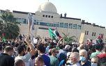 چهارمین روز تحصن اردنیها مقابل سفارت اسرائیل