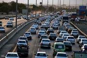 وضعیت ترافیک در محور هراز و فیروزکوه