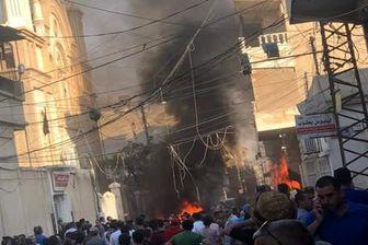 انفجار تروریستی در نزدیکی یک کلیسا در سوریه