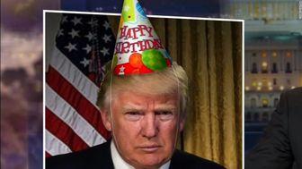 ترامپ 72 ساله شد