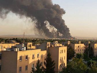 پالایشگاه تهران هنوز می سوزد/ حادثه تاکنون تلفات جانی نداشته است
