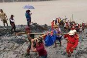 ۱۰۰ کشته در رانش زمین در میانمار